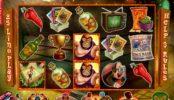 Obrazek z gry internetowej na automacie Lucha Libre