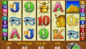 Automat do gier online Queen of the Nile firmy Aristocrat