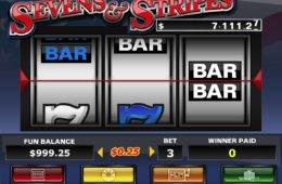 Darmowa gra na automacie online Seven and Stripes