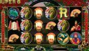 Darmowy automat do gier online Super 6