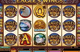 Imagine din joc de păcănele Eagles Wings gratis online