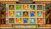 Poza jocului gratis online cu aparate Pharaoh´s Treasure