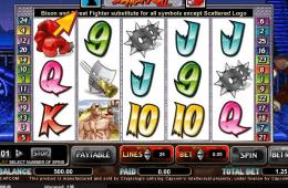 Poza jocului gratis online cu aparate Street Fighter II