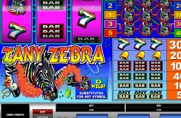 poza joc gratis online ca la aparate Zany Zebra
