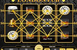Poza jocului gratis online cu aparate London Pub