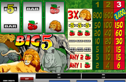 poza joc gratis online ca la aparate Big 5