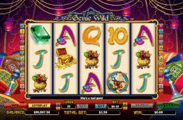 Joc de păcănele gratis online Genie Wild