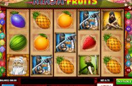 Joc de păcănele gratis online Ninja Fruits
