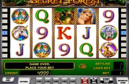 Joc de păcănele gratis online Secret Forest