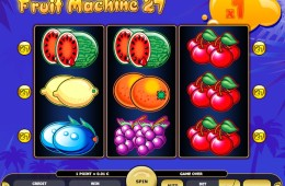 Joc gratis online de cazino Fruit Machine 27