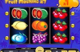 Joc gratis online de cazino Fruit Machine 27