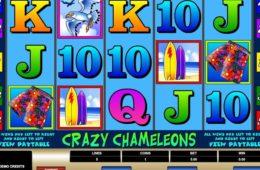 Joc de păcănele Crazy Chameleons gratis online