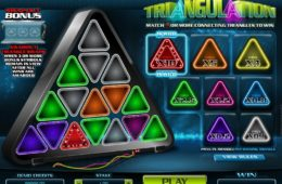 Joc de păcănele distractiv Triangulation gratis online
