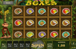 Joc de păcănele gratis online Fruit Boxes