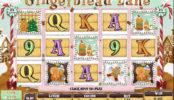 Joc de păcănele gratis online Gingerbread Lane