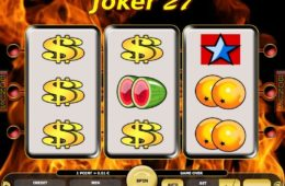 Joc de păcănele gratis online Joker 27