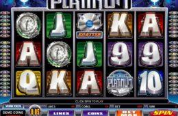 Joc de păcănele gratis online Pure Platinum