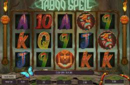 Joc de păcănele gratis online Taboo Spell