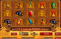 Joc de păcănele gratis online Treasure of Isis