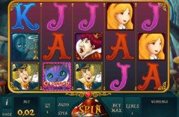 Joc de păcănele gratis fără depunere Alice Adventure