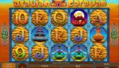 Joc de păcănele online distractiv Arabian Caravan