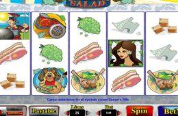 Joc de păcănele gratis online Caesar Salad