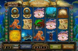 Joc de păcănele gratis Captain Nemo