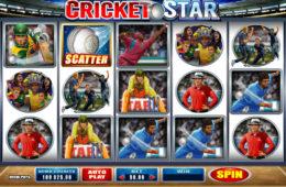 Joc de păcănele gratis online Cricket Star