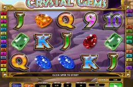Joc de păcănele gratis online fără depunere Crystal Gems