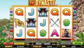 Joc de păcănele online fără depunere Dynasty