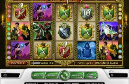 Joc de păcănele online fără depunere Excalibur