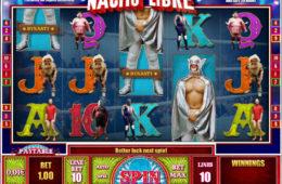 Joc de păcănele online fără descărcare Nacho Libre