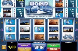 Casino slot machine World Tour