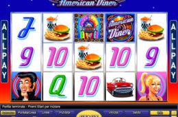 American Diner joc de păcănele online de la Novomatic