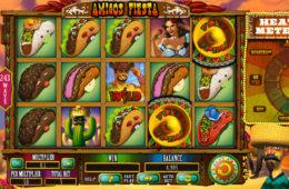 Amigos Fiesta joc de păcănele de la Spinomenal