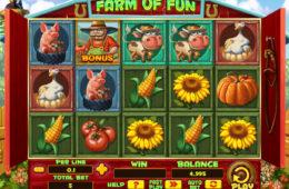 Joc cu aparate gratis Farm of Fun