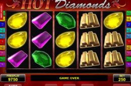 Joc de păcănele online Hot Diamonds