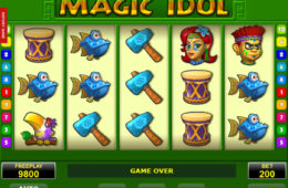 Joc de păcănele online Magic Idol