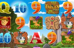 Joc de păcănele gratis online distractiv Troll's Tale