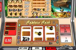 Captain Cash joc de păcănele online de la Betsoft