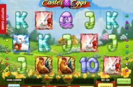 Joc de păcănele online distractiv Easter Eggs
