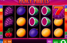 Joc de păcănele online distractiv Fancy Fruits