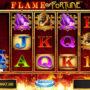Joc de păcănele online distractiv Flame of Fortune