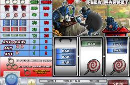 Joc de păcănele gratis online distractiv Flea Market