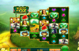Joc de păcănele gratis Magic of Oz