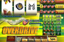 Poză joc de păcănele gratis Overdrive