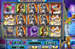Joc de păcănele gratis Power Pups Heroes