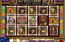 Reel Crime: Art Heist joc cu aparate online