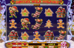 Joc de păcănele Santa's Wild Helpers