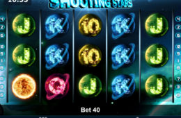 Joc de păcănele online Shooting Stars